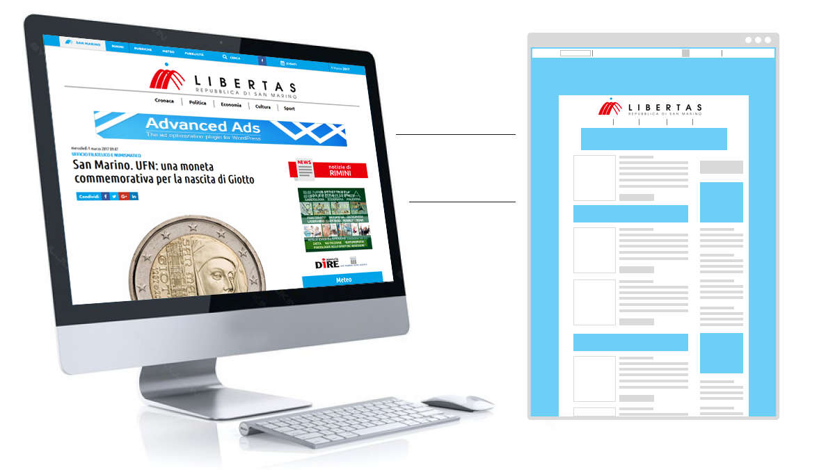 Nuovo layout progetto Libertas
