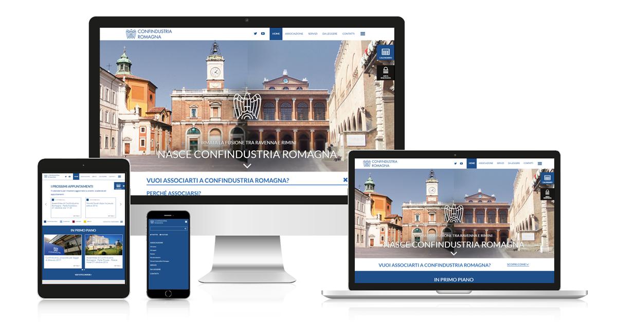 Nuovo sito Confindustria Romagna - Webit