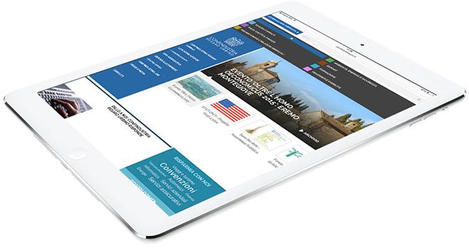 Progetto web responsive Confindustria Pesaro Urbino