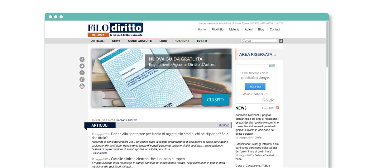 Progetto web Filodiritto