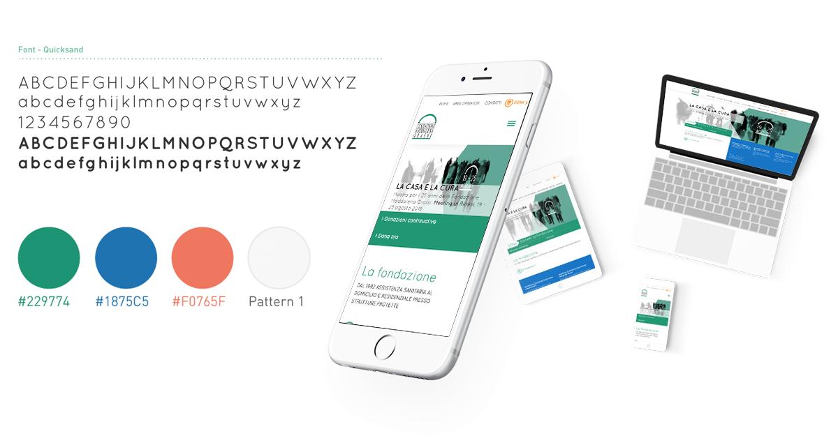 Progetto web Fondazione Madellana Grassi
