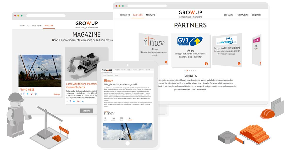 vantaggi sito one page - webit