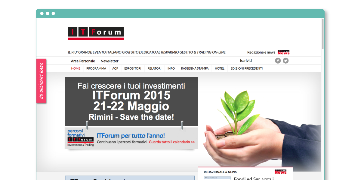 Re-design ITForum