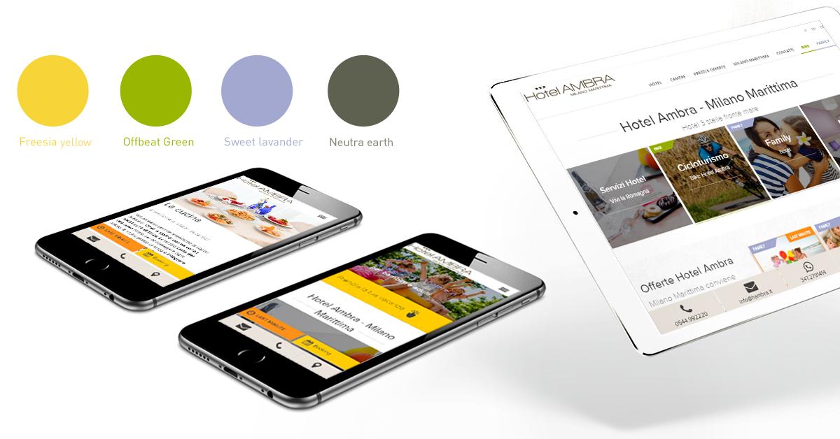 sito web Hotel Ambra mobile - Webit