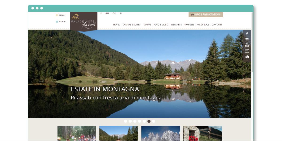 Progetto web Palace Hotel Ravelli