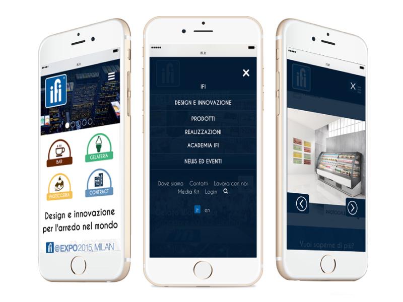 Responsive web design - progetto web IFI