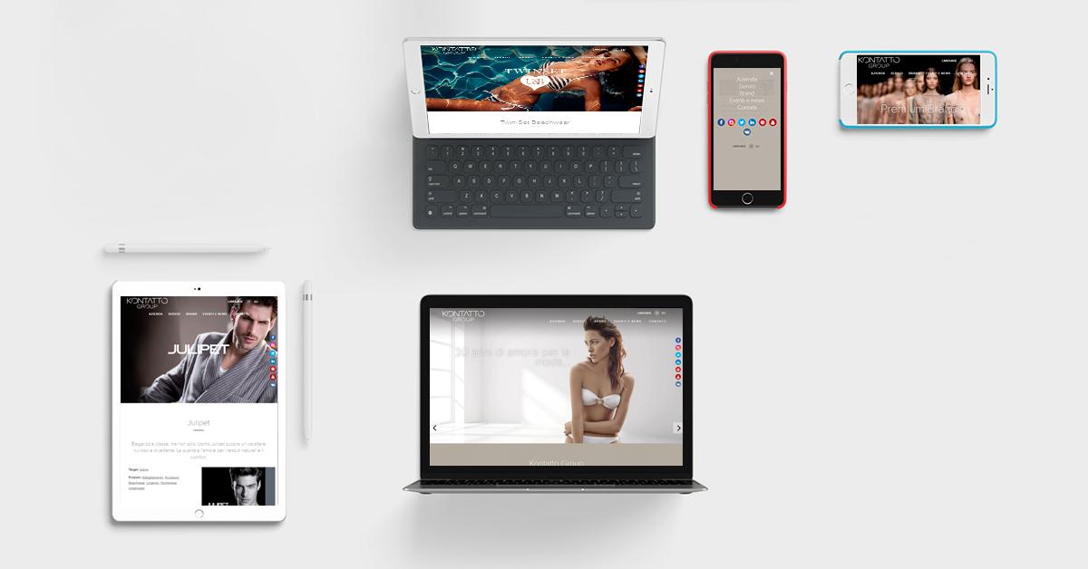 Progetto mobile Kontatto - Webit