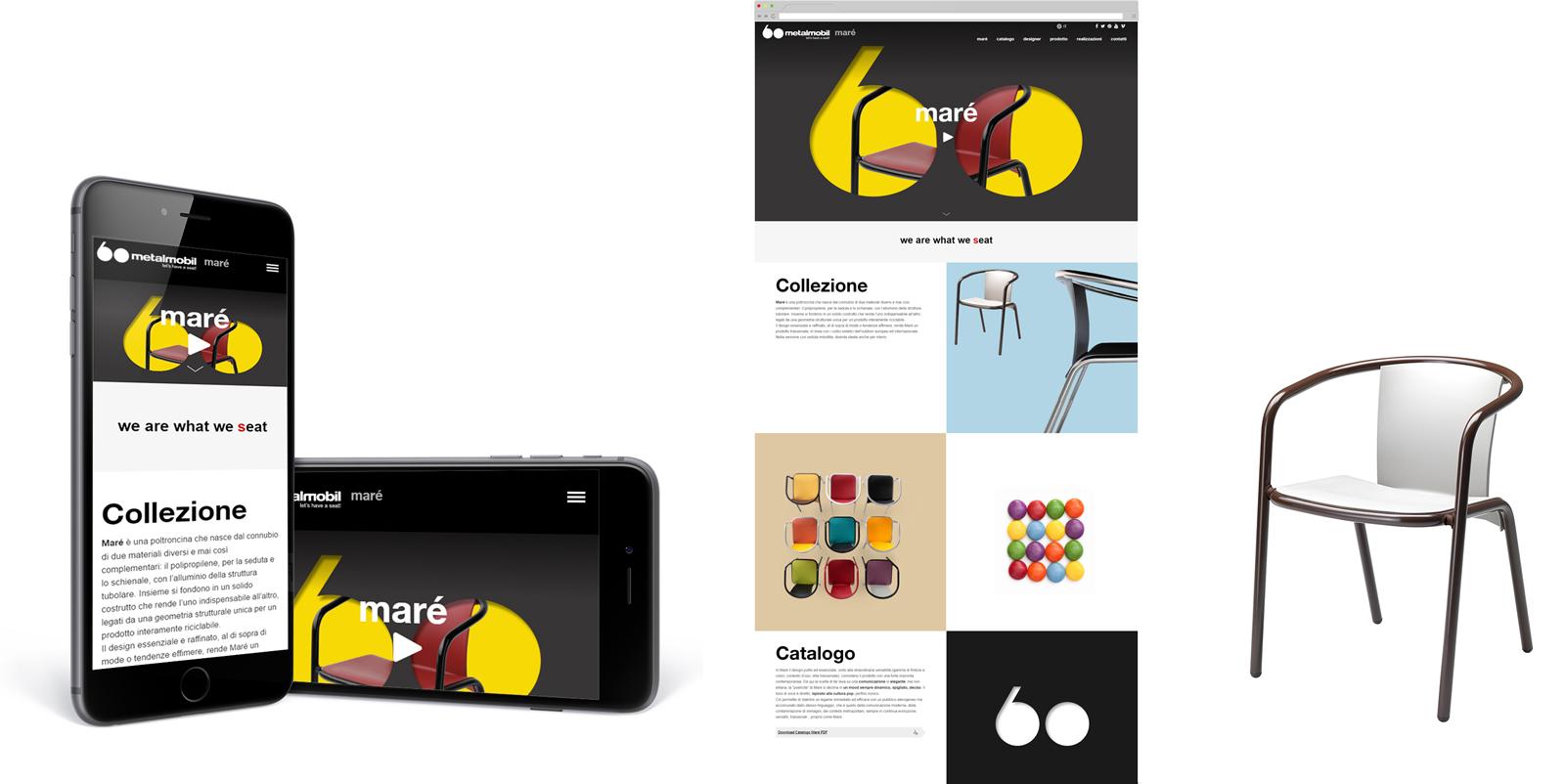 Progetto web Maré - home page