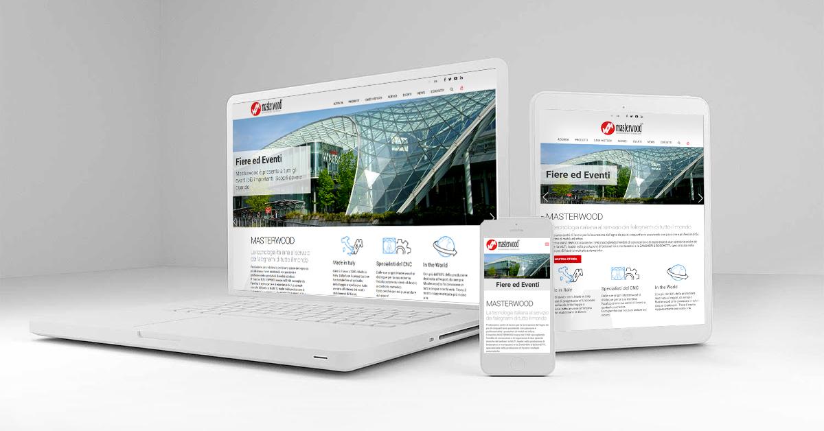 Masterwood sito responsive - Webit