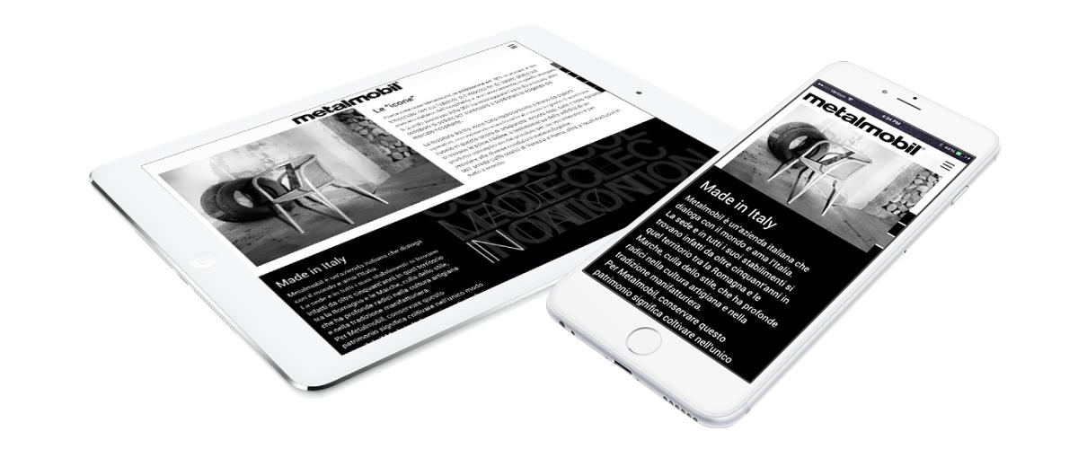 Responsive web design - Metalmobil