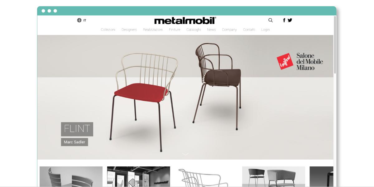 Metalmobil home page