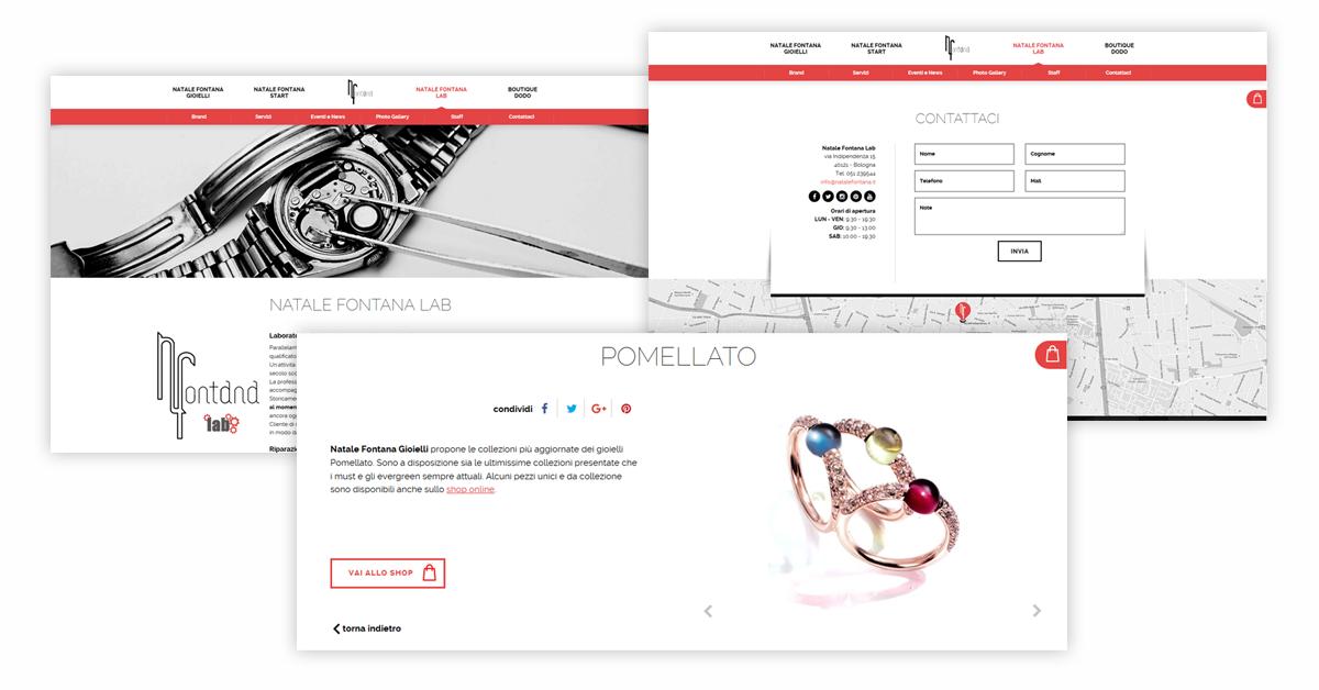 Pagine interne - progetto Natale Fontana