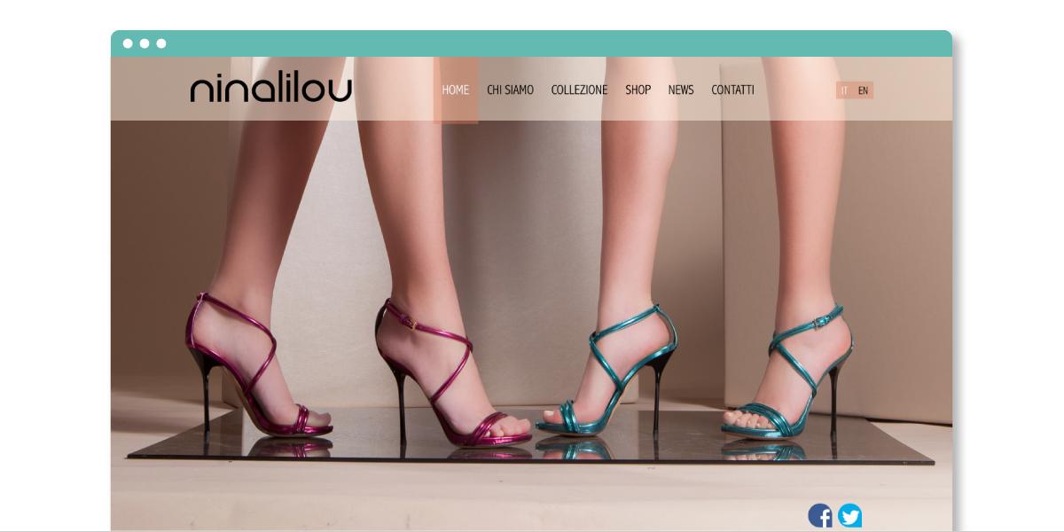 Ninalilou progetto web eCommerce