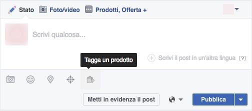 Taggare prodotti su facebook - Webit
